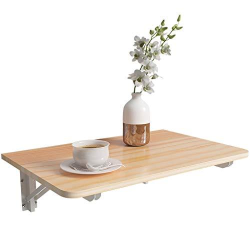 Zhangapn1 aus Massivholz, Wandtisch, klappbar, Computertisch, Esstisch, Lerntisch, 60 x 40 cm, Geschenk A.