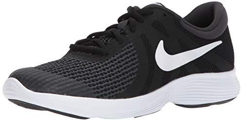 Nike Unisex-Erwachsene Revolution 4 (GS) Laufschuhe, Schwarz (Black/White-anthracite 006), 38.5 EU