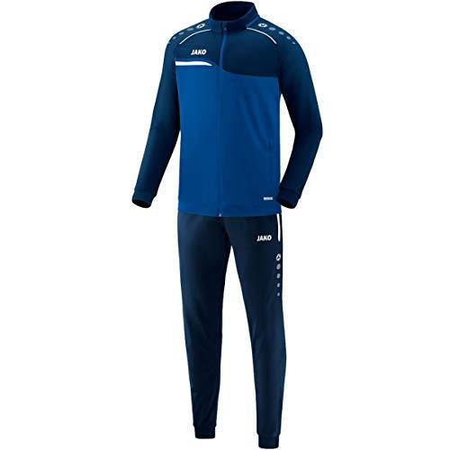 JAKO Herren Competition 2.0 Trainingsanzug Polyester, royal/Marine, M