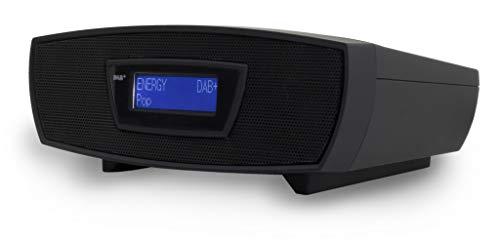 Soundmaster URD480SW DAB+ UKW Digital Radio Wecker mit CD-MP3 Resumefunktion und USB
