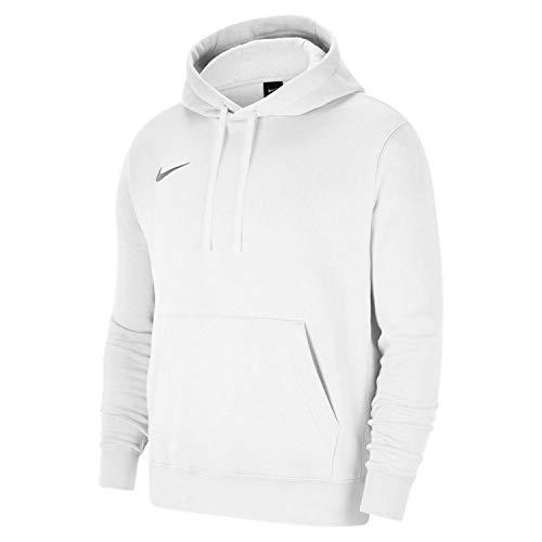 Nike Herren Team Club 20 Hoodie Kapuzenpullover, White/White/Wolf Grey, S