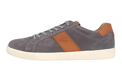 camel active Herren Tonic Sneaker, Mehrfarbig (ash/Nature 07), 44 EU