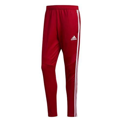 adidas Herren Tiro 19 Trainingshose, Herren, Hosen, Tiro 19 Training Pants, Power Rot/Weiß, Medium