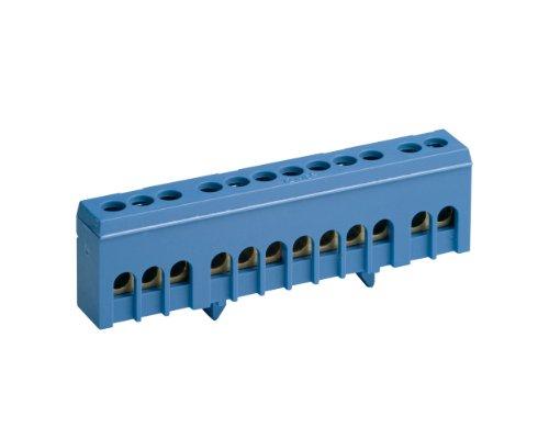 REV Ritter 0518792777 Nullleiterklemme, 12-polig, 16 mm², blau