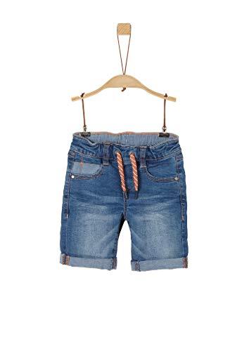 s.Oliver Junior Jungen 404.10.004.26.180.2037951 Jeans-Shorts, Blue, 128