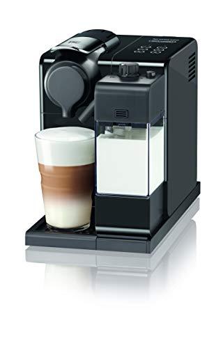 De'Longhi Nespresso Lattissima Touch EN 560.B Kaffekapselmaschine mit Milchsystem, Flow Stop Funktion: Kaffee- und Milchmenge individuell einstellbar, 19 bar Pumpendruck, Schwarz Grau