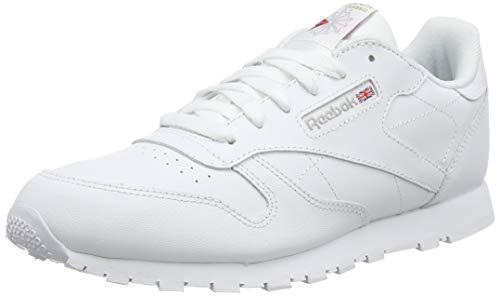 Reebok Jungen Classic Leather Fitnessschuhe, Weiß (White/1 000), 34 EU