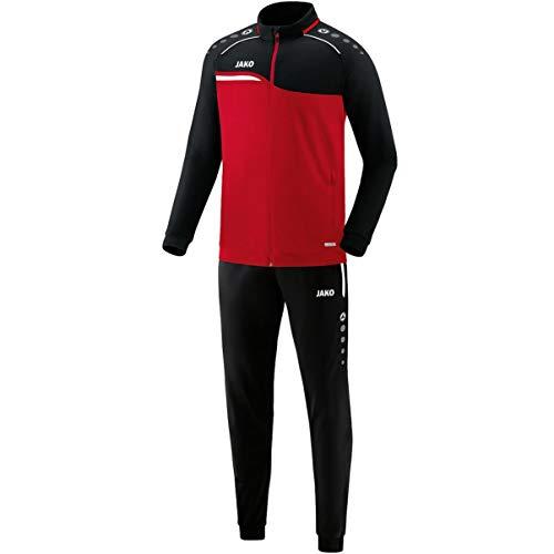 JAKO Herren Competition 2.0 Trainingsanzug Polyester, rot/Schwarz, XXL