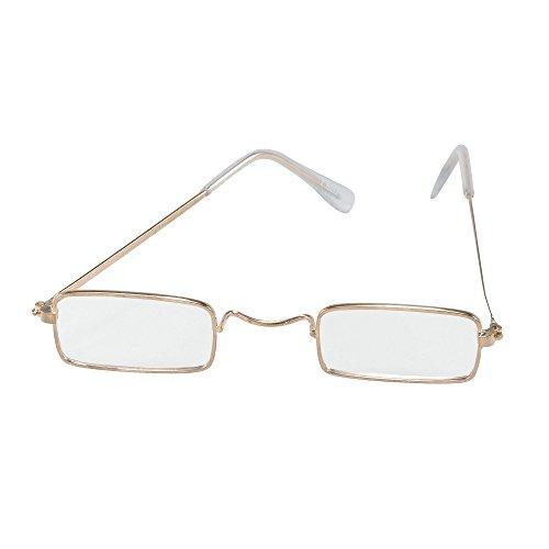 Bristol Novelty BA712 Brille, Unisex Adult, klar, Einheitsgröße