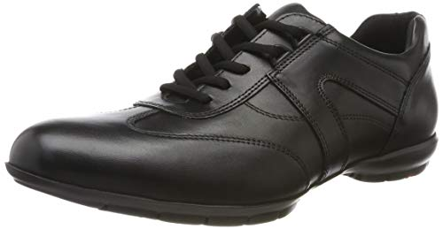 LLOYD Herrenschuh ANDORRA, moderner Herren-Sneaker aus Leder mit Gummisohle