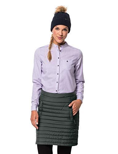 Jack Wolfskin Damen ICEGUARD Skirt Rock, Greenish Grey, XL