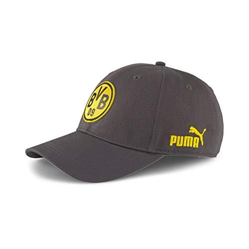 PUMA Borussia Dortmund ftblCulture Baseball Cap dunkelgrau/gelb, OS