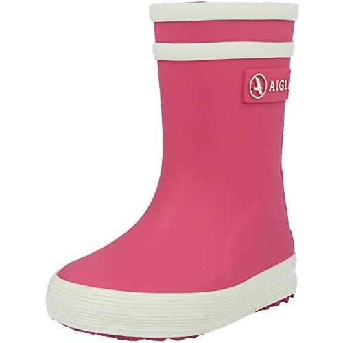 Aigle Unisex-Kinder Baby Flac Gummistiefel, Pink (Rose New), 21 EU