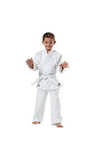 Kwon Kinder Kampfsportanzug Judo Randori, weiß, 140 cm, 551312140