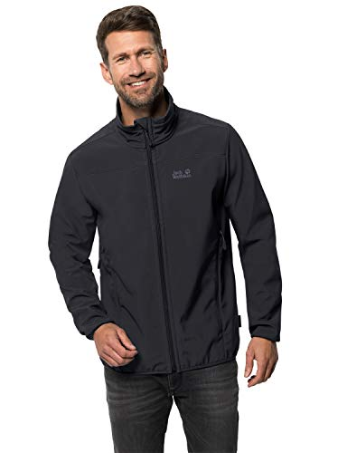 Jack Wolfskin Herren Northern Point Jkt M Softshelljacke, black, XL