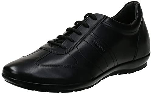 Geox Herren UOMO SYMBOL B, Black, 45 EU