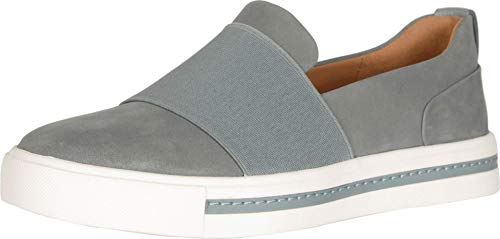 Clarks Un Maui Step Womens Slip On Sneakers Blue Grey Nubuck 7 W