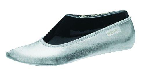 Bleyer Bauchtanzschuhe Gymnastikschuhe orientalischer Tanz-Schuhe, Silber (40)