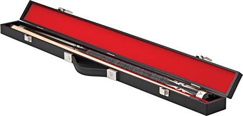 Casemaster Deluxe Billard/Pool Queue Hard Case, für 1komplette 2-teilig Cue (1Butt/1Schaft)