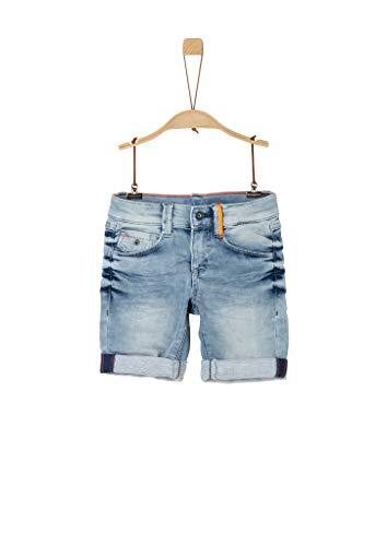 s.Oliver Junior Jungen 404.10.004.26.180.2037942 Jeans-Shorts, Blue, 128