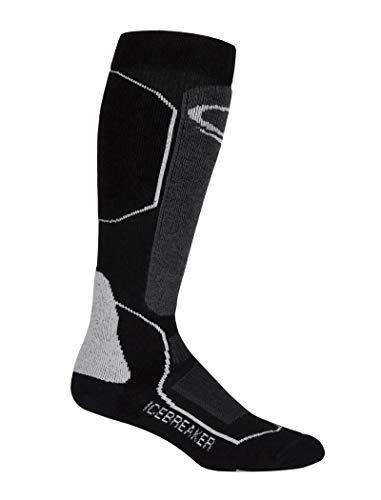 Icebreaker Herren Skisocken Ski+ Medium OTC Socken,strümpfe, Black/Oil/Silver, M
