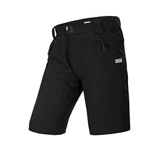 IXS Herren Vapor 6.1 Trail Shorts, Black, S