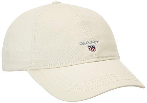 GANT Herren Baseball Twill Cap, Beige (Putty 34), One size