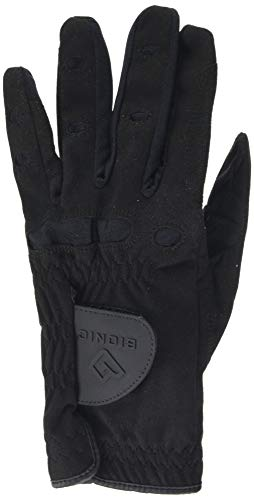 Bionic Herren Golfhandschuh linke Hand (Linkshänder) AquaGrip,Schwarz,M