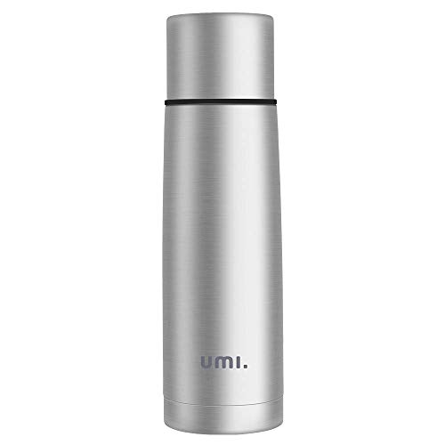 UMI by Amazon - Vakuum Isolierflasche Thermosflasche 0,5 L aus 18/8 Edelstahl, leicht und kompakt,für Kinder, Outdoor, Schule, Laufen