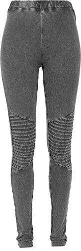 Urban Classics Damen Ladies Denim Jersey Leggings, Grau (Darkgrey 94), 46 (Herstellergröße: 3XL)