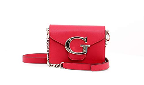 Guess CAMILA MINI CROSSBODY FLAP RED RED