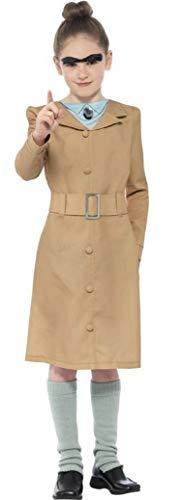 Fancy Me - Mädchen Roald Dahl Miss Trunchbull Lehrer Kostüm Verkleidung Party Outfit - Braun, 10-12 Jahre