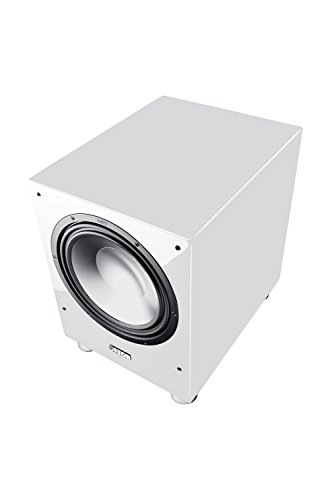 Canton Sub 1200 R Aktives Subwoofersystem (500/750 Watt, 1-er Stück) hochglanz-weiß