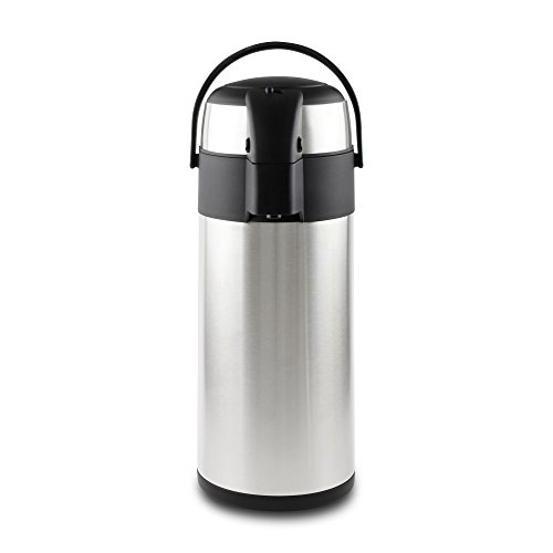 Pioneer Flasks Isolierkanne, 18/10 Edelstahl, Argent, 5 Litre