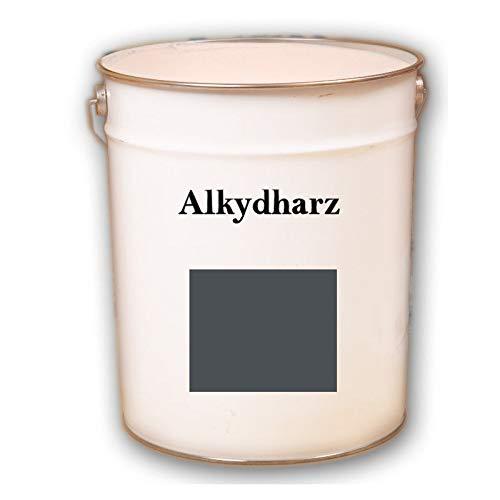 Hauptversand24 2,5 kg RAL 7016 Anthrazitgrau grau Fassadenbeschichtung matt Fassadenfarbe Außenfarbe UV-Beständig