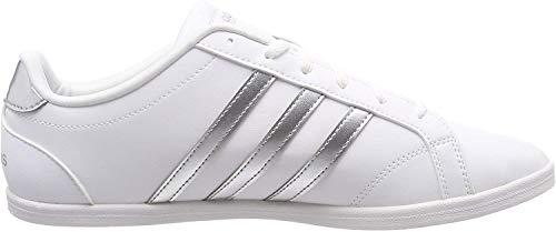 adidas Damen Coneo QT Fitnessschuhe, Weiß (Ftwbla/Plamat/Ftwbla 000), 39 1/3 EU