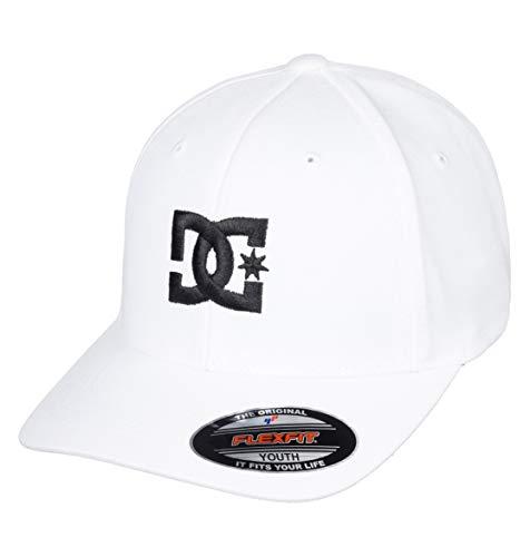 DC Shoes Jungen Cap Star - Flexfit Kappe für Jungen, White/Black, 1SZ, ADBHA03095