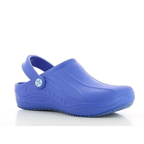 Oxypas Smooth, Unisex-Erwachsene Sicherheitsschuhe, Blau (Ebl-Electric Blue), 40 EU ( UK)