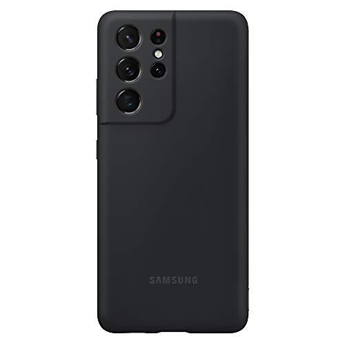 Samsung Silicone Cover EF-PG998 für Galaxy S21 Ultra 5G, Black
