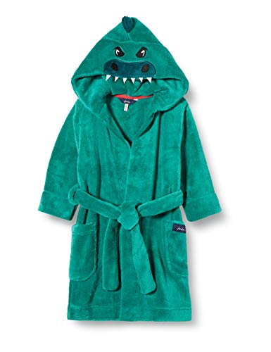 Joules Jungen Mark Bademantel, Green (Turtle Green Turtlgreen), X-Small