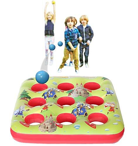 Kreatives Kraft-Ziel-Ball-aufblasbares Spiel für Kinderpartei-Sommer-Spiele im Freien für Jungen-Mädchen 3 in Folge Inflatables-Garten-Spielzeug