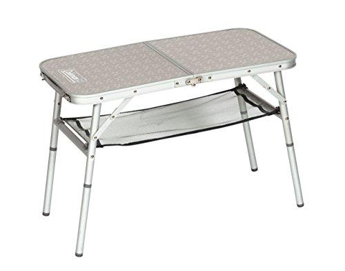 Coleman 204395 Campingtisch Mini Camp Table, 80 x 40 x 31,5/55 cm