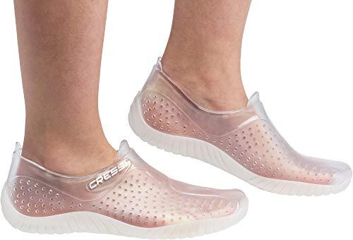 Cressi Unisex Erwachsene Schuhe für alle Wassersportarten, Weiß (Transparent), 39 EU