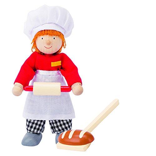 Goki 51608 - Biegepuppe Bäcker