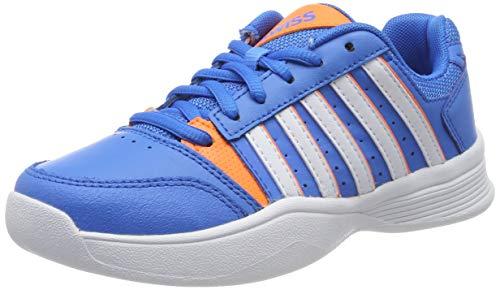 K-Swiss Performance Court Smash Carpet Tennisschuhe, Blau (Brilliant Blue/White/Neon Oran 426-M), 36 EU