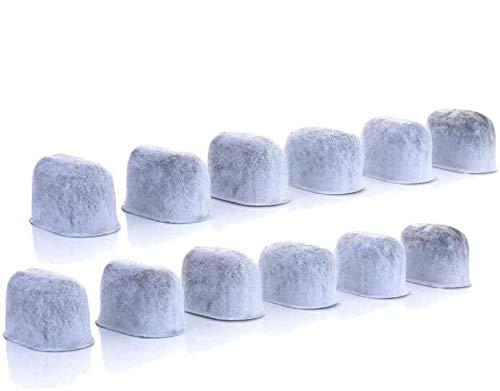 12er Aktivkohlefilter Kohlefilter für BEEM AEG Klarstein Cuisinart und Domo Kaffeemaschinen Ersatz Wasserfilter