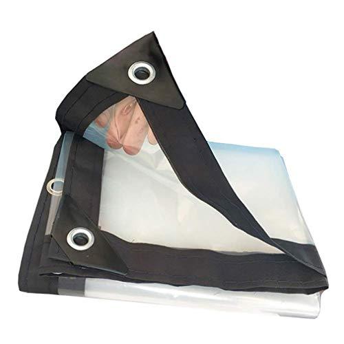 WYZBD Transparente Dicke Plane, Gartenhaus-Stoff Frostschutzscheibe 120g / m2 (Größe auswählen),4 * 8m