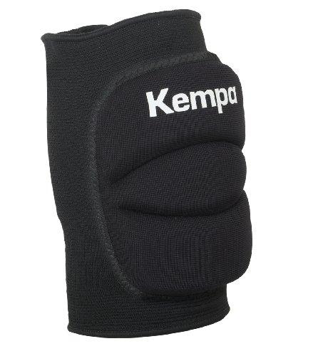 Kempa Kinder Knie Indoor Protektor Gepolstert, schwarz, M, 200651001