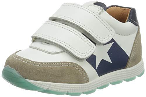 Bisgaard Jungen Liam Sneaker, Mehrfarbig (White/Navy 1411), 30 EU