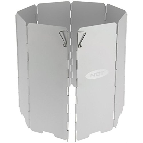 NGT Cooking Wind Shield Windschutz, grau, M